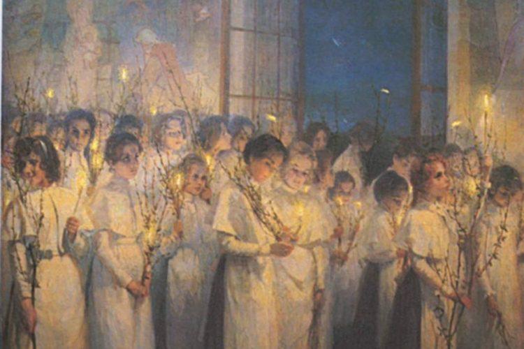 Вербное Воскресенье вместе с детьми