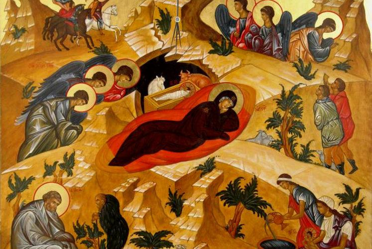 7 января Рождество Господа и Спаса нашего Иисуса Христа
