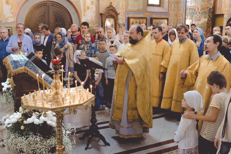 1 сентября отслужен молебен на начало нового учебного года