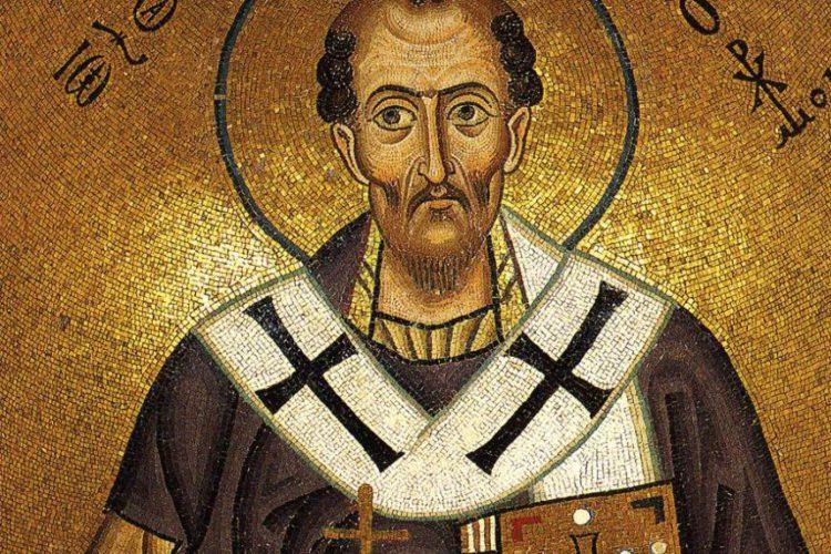 26 ноября — память Святителя Иоанна Златоустого, Архиепископа Константинопольского (407г.)