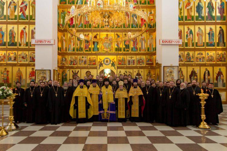 Начало работы курсов повышения квалификации священнослужителей в Королёве