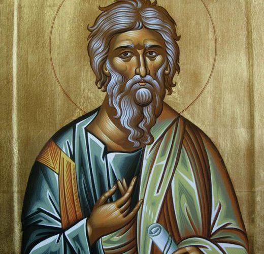 13 декабря — память апостола Андрея Первозванного