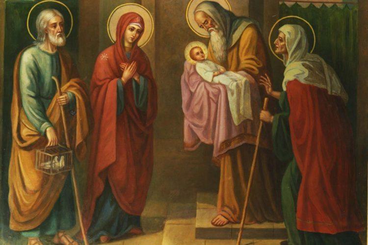 15 февраля — Сретение Господа Бога и Спаса нашего Иисуса Христа