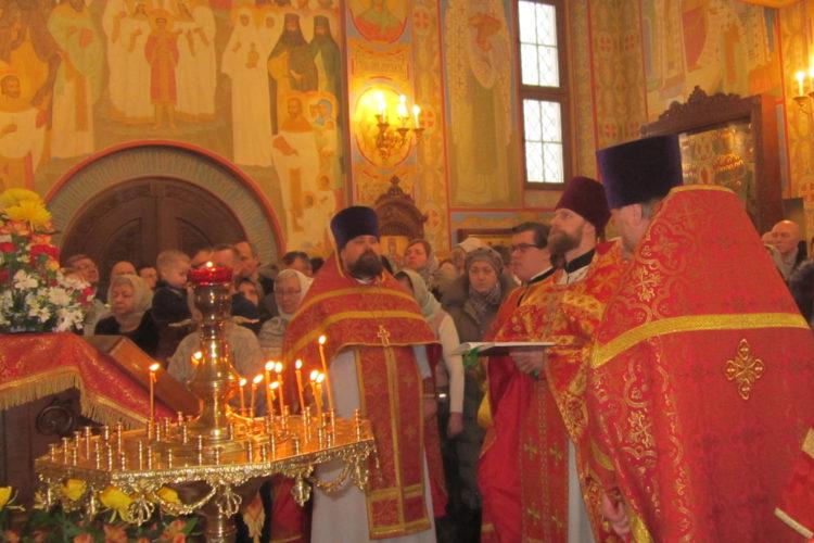 Престольный праздник в Новомученическом храме