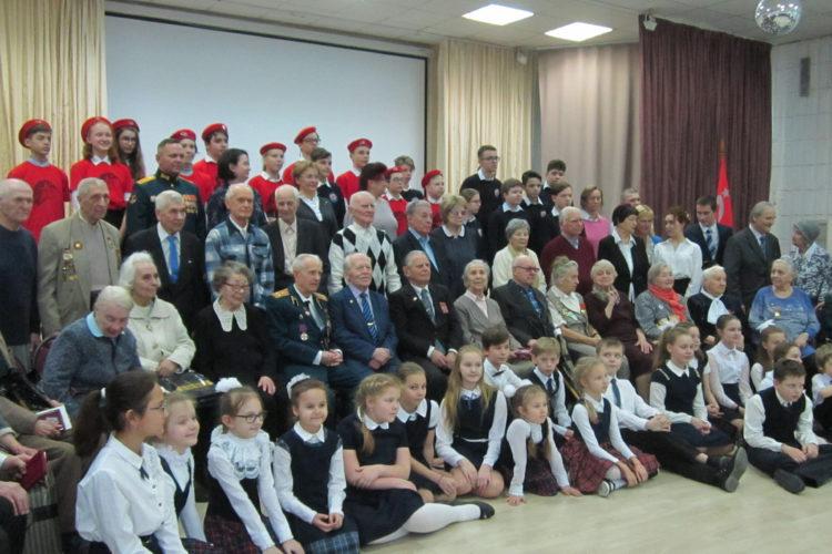 Вручение медалей к 75-летию Великой Победы