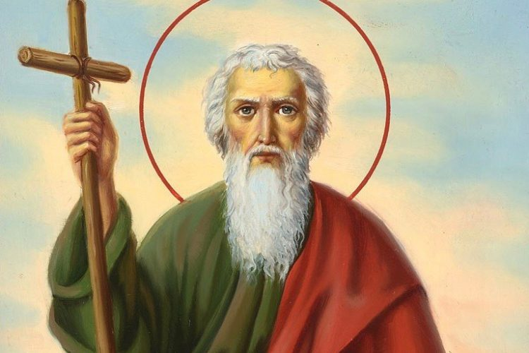 13 декабря – память св. апостола Андрея Первозванного