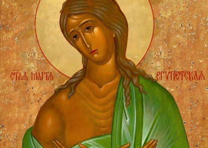 18 апреля – память преподобной Марии Египетской